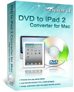 DVD to iPad 2 Converter for Mac Box