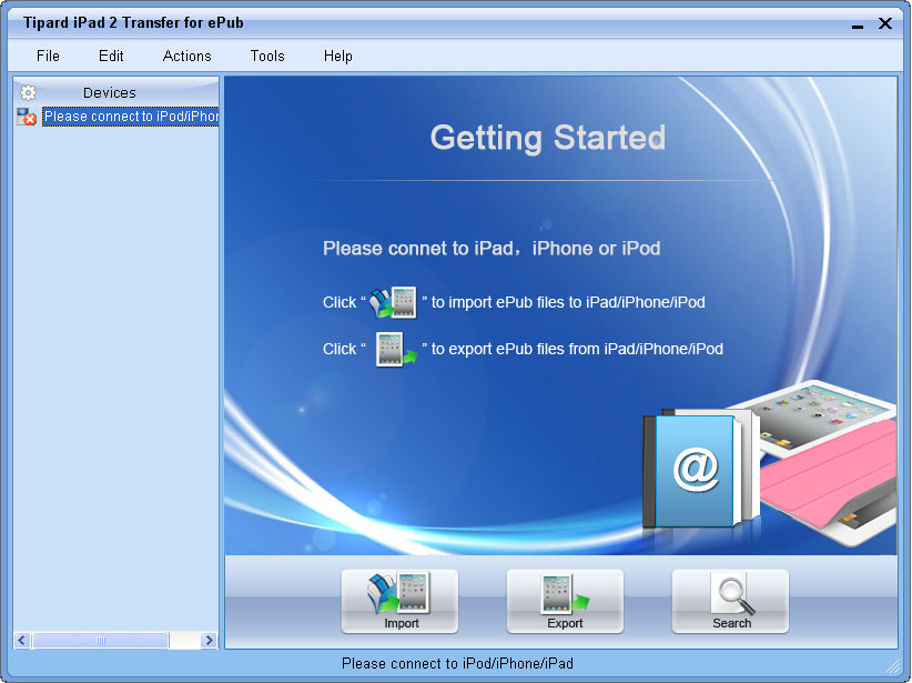 iPad 2 Transfer for ePub