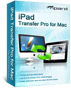 iPad Transfer Pro for Mac Box