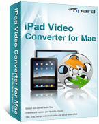 iPad Video Converter for Mac Box